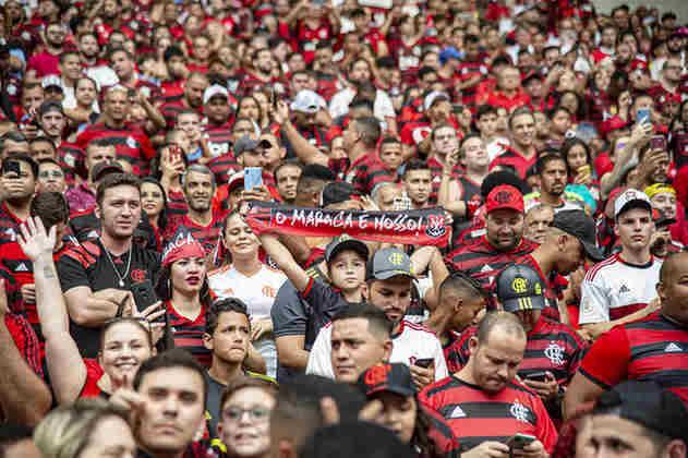 O Rubro-Negro também lucrou mais com a bilheteria: R$ 114 milhões contra R$ 62 milhões do Palmeiras.