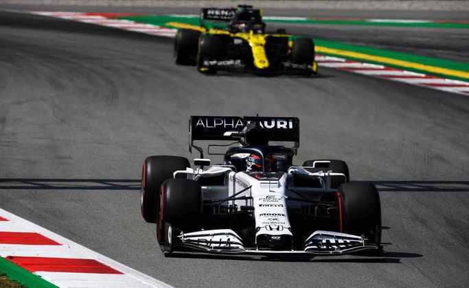 O russo terminou a corrida espanhola na mesma posição de largada