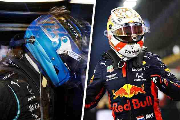 O sábado de classificação em Abu Dhabi foi com uma pole surpreendente de Max Verstappen. Veja as melhores fotos: (Por GRANDE PRÊMIO)
