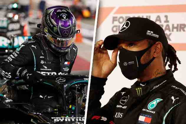 O sábado de classificação no Bahrein foi todo de Lewis Hamilton. Confira a galeria com o melhor do dia. (Por GRANDE PRÊMIO)