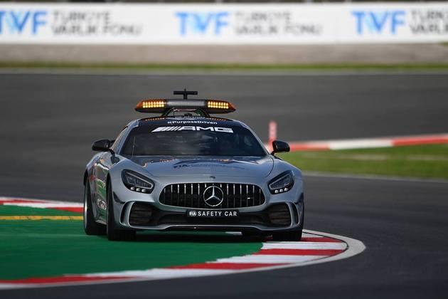 O safety-car é usado na F1 em situações perigosas, como chuvas ou acidentes. E evoluiu bastante ao longo do tempo. Confira nessa galeria especial (Por Grande Prêmio)