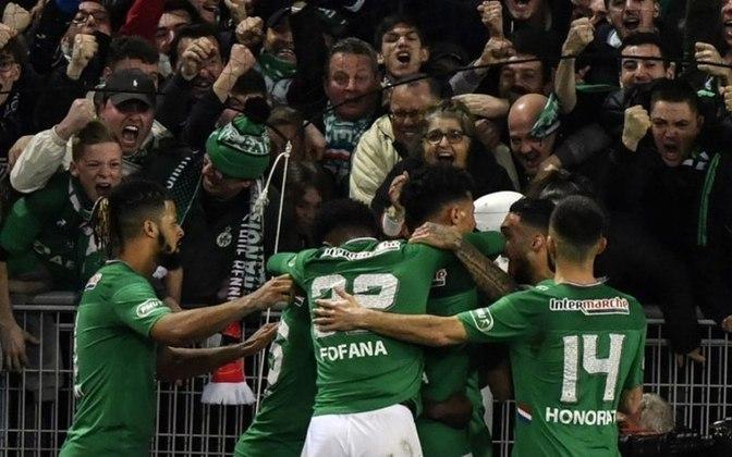 O Saint-Étienne está na fila há 40 anos. O último título francês do clube foi na temporada de 1980/1981.