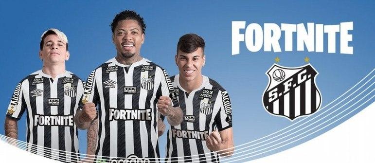 O Santos está sem patrocínio master fixo desde 2018, quando encerrou o vínculo com a Caixa. No entanto, o clube vem fechando contratos pontuais. O mais recente é do game Fortnite, jogo eletrônico da Epic Games e um dos mais jogados do mundo, que irá estampar a camisa do Peixe na final da Libertadores, contra o Palmeiras, no próximo sábado (30), no Maracanã. O acordo renderá mais de R$ 1 milhão ao Alvinegro
