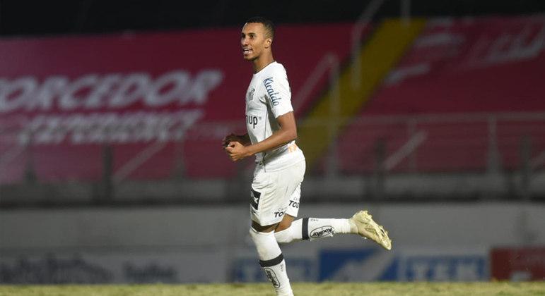 Santos busca empate com golaço de Lucas Braga e respira no Paulistão