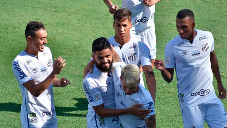 O Santos não teve uma atuação brilhante, mas contou com um desempenho decisiva do atacante Soteldo para vencer o Botafogo por 2 a 1 na tarde deste domingo, na Vila Belmiro (por Diário do Peixe)