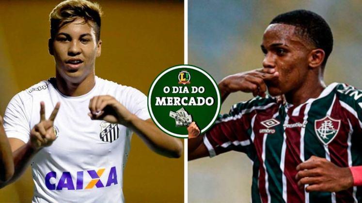 O Santos pode ter grandes mudanças nos próximos dias, já que tem chances reais de perder dois jogadores que são muito importantes dentro do elenco. Já o Fluminense acertou a venda para o Manchester City de uma jovem promessa. Tudo isso e muito mais no Dia do Mercado desta sexta-feira