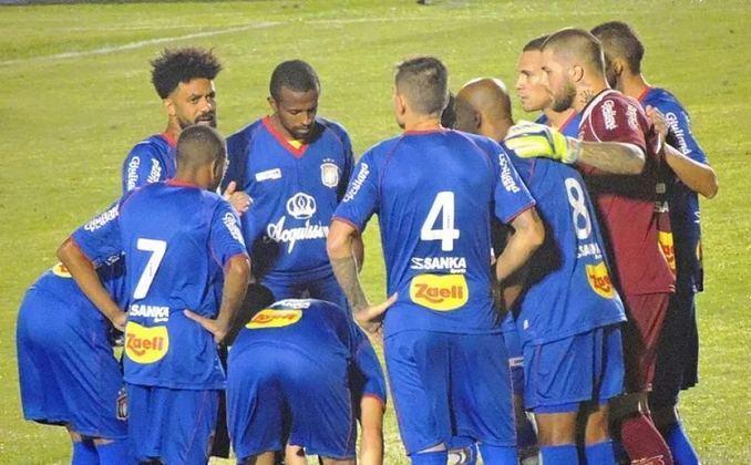 O São Caetano está na trigésima primeira colocação, também com 13 goleadas sofridas em 172 jogos no Brasileirão desde 2003.
