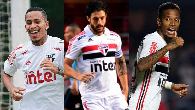 O São Paulo emprestou, na última semana, o atacante Paulinho Boia ao Juventude. Sendo assim, o LANCE! mostra outros jogadores que estão emprestados pelo Tricolor.