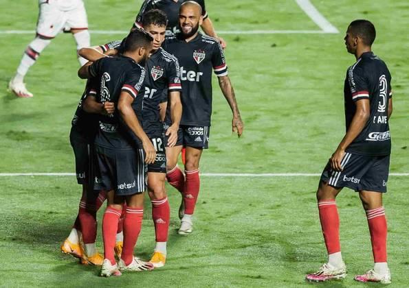 O São Paulo recuperou o bom futebol e venceu o Atlético-GO por 3 a 0, no Morumbi, em jogo válido pela 14ª rodada do Brasileirão. Com grande destaque para os garotos de Cotia, Gabriel Sara e Brenner, que foram os melhores do time em campo. Veja as notas do Tricolor paulista no LANCE! (Por Gabriel Santos)