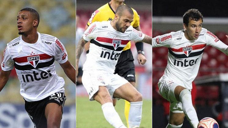O São Paulo segue tratando a lesão do atacante Luciano, vice-artilheiro da equipe na temporada, com 15 gols. No entanto, mesmo sem o jogador a torcida são-paulina tem à disposição outros artilheiros na equipe. Veja os jogadores que deixaram sua marca nesta temporada.