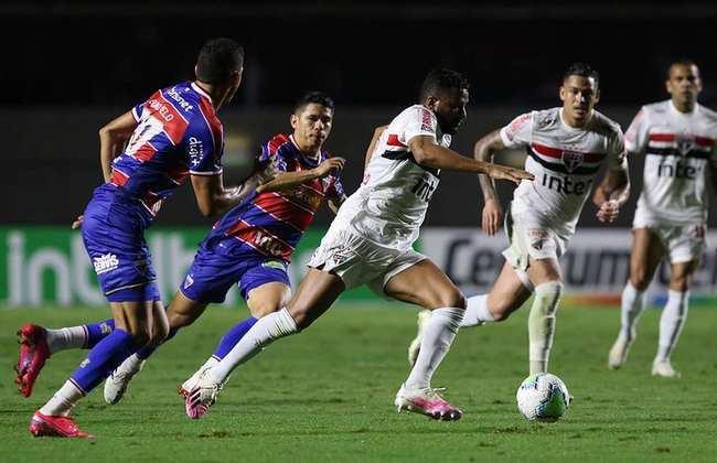 O São Paulo sofreu apenas uma goleada no ano, o 3 a 0 diante do Atlético-MG, pelo Brasileirão, em setembro (só para mencionar, a LDU aplicou 4 a 2 na Libertadores em cima do Tricolor)