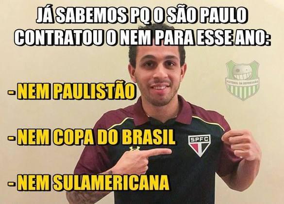 O São Paulo também foi eliminado na 1ª fase da Copa Sul-Americana em 2017. Mais um ano sem títulos do Tricolor!