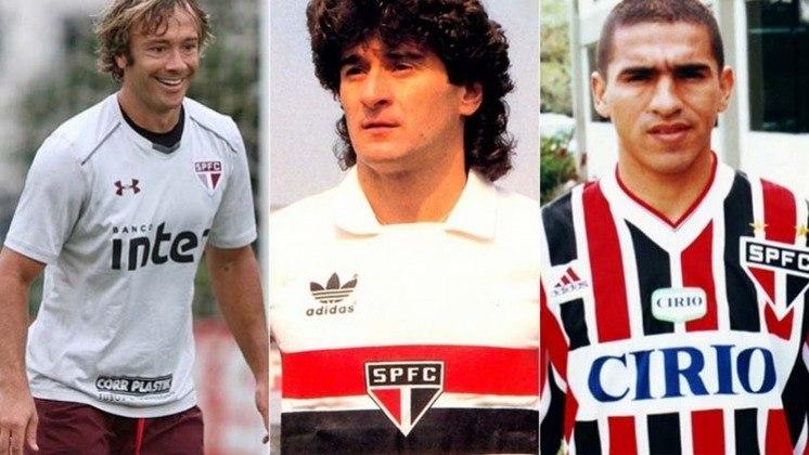 O São Paulo vem trazendo diversos estrangeiros nesta janela de transferências, como o lateral Orejuela e o meia Benítez, além de procurar Gabriel Neves e Borré. Com isso, o Lance mostra alguns estrangeiros com mais jogos pelo Tricolor,