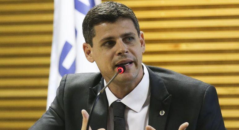 O secretário do Tesouro Nacional, Bruno Funchal: R$ 9,3 bilhões em despesas do Orçamento estão bloqueados