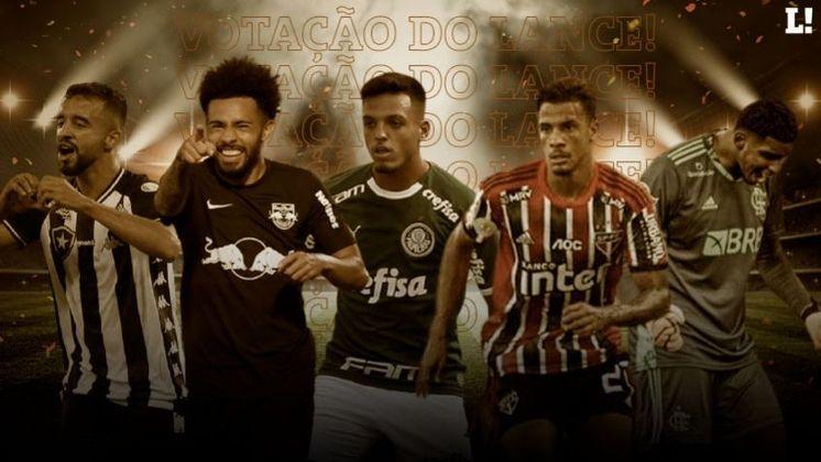 O segundo turno do Campeonato Brasileiro vai começar neste final de semana e, por isso, nós realizamos uma votação com a Redação do LANCE! sobre as revelações do primeiro turno da competição. Confira aqui, em ordem crescente, todos os jogadores que foram lembrados!