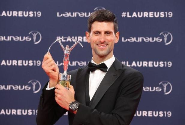 O sérvio Novak Djokovic ficou com o Laureus em três edições: 2012, 2015 e 2016. O tenista conquistou a medalha de bronze de simples nos Jogos Olímpicos de 2008, em Pequim