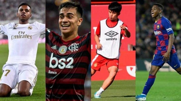 O site Goal publicou o NxGn 2020, a lista dos cinquenta melhores jogadores nascidos após janeiro de 2001. Nesta lista, temos alguns brasileiros, como Gabriel Veron, do Palmeiras, Rodrygo, do Santos, e Reinier do Flamengo. Veja a relação completa.