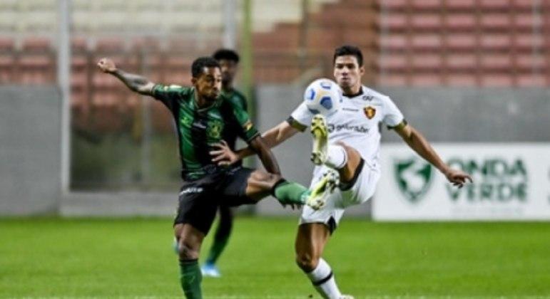 O Sport conseguiu sua segunda vitória no Campeonato Brasileiro ao derrotar o América em BH