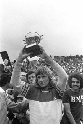 O sueco Björn Borg encerrou a carreira com 11 conquistas de Grand Slam