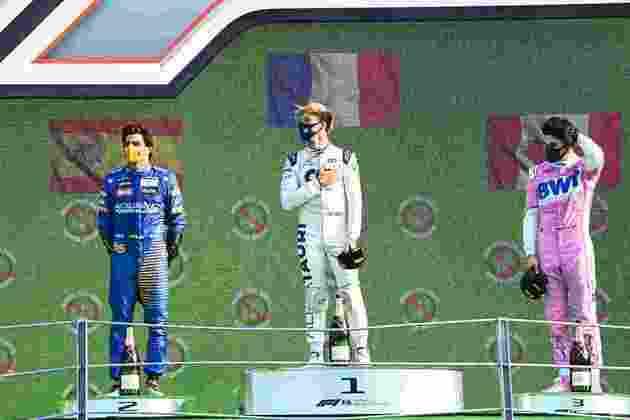 O surpreendente pódio em Monza com Sainz, Gasly e Stroll