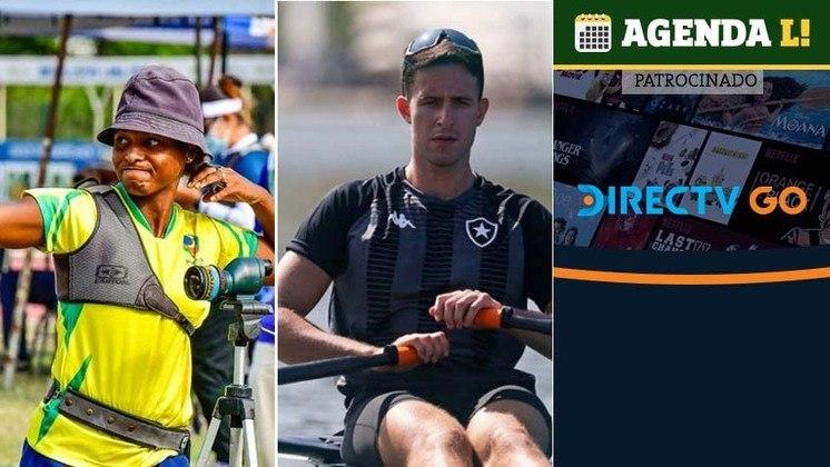 O terceiro dia de competições nos Jogos Olímpicos tem remo e tiro com arco, ambos com representantes brasileiros. Confira a agenda desta quinta/sexta, sempre no horário de Brasília.