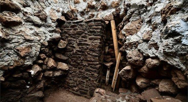 O novo templo foi descoberto após escaneamentos com radar na pirâmide de Teopanzolco