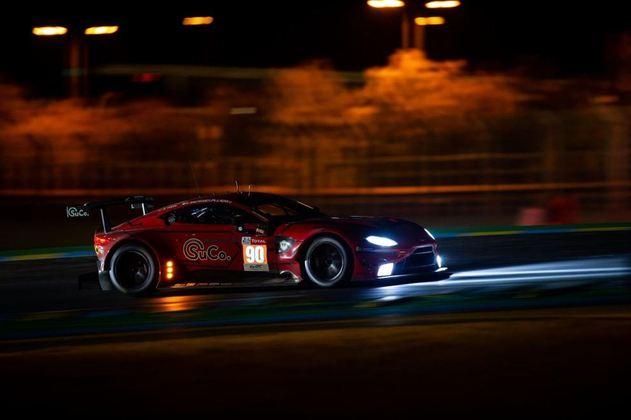 O TF Sport #90 da Aston Martin levou a melhor na categoria GTE-Am