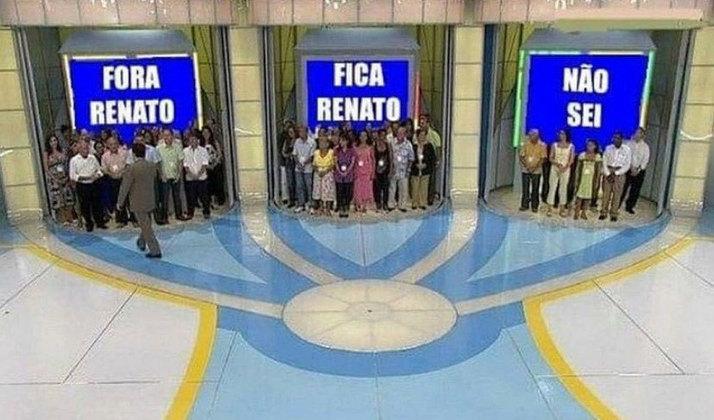 O time comandado por Renato Gaúcho foi derrotado por 2 a 0 pelo Universidad Católica na noite desta quarta-feira (17) e sofreu com as zoações dos rivais. Especulado no time gaúcho, o uruguaio Cavani foi lembrado e até cobrado em algumas brincadeiras. Confira na galeria!