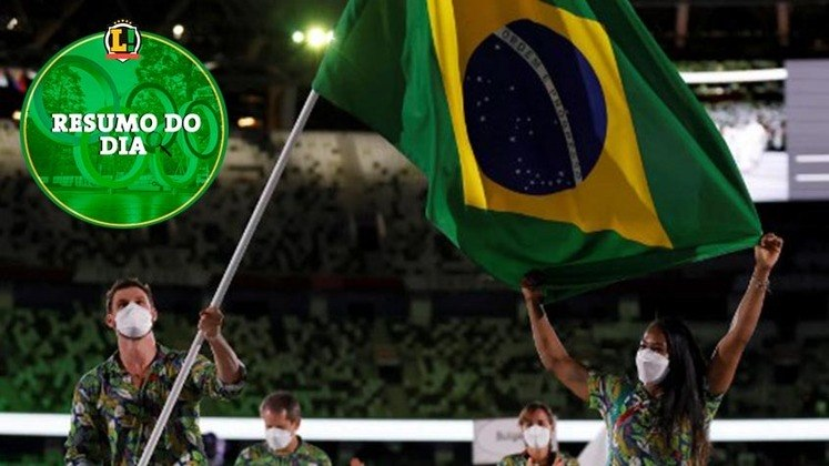 O tiro com arco, remo e a cerimônia de abertura foram os destaques do terceiro dia de partidas nos Jogos Olímpicos de Tóquio. Confira o resumo do dia do LANCE!.