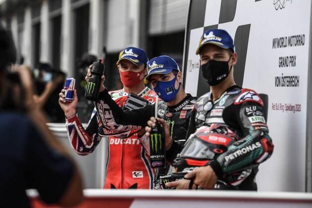 O top-3 do GP da Áustria da MotoGP
