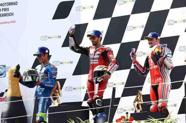 O top-3 teve duas Ducati e uma Suzuki