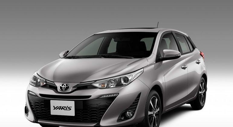 O Toyota Yaris também custará R$ 75 mil, em média. O modelo 2022 não deve ter mudanças no motor, apenas no modelo.