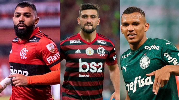 O Transfermarkt atualizou os valores de cada jogador do Brasileirão e tem mudança na lista, com novo líder e um domínio de Palmeiras e Flamengo, contando também com muitos jovens que já são realidade dentro de seus clubes. Confira o ranking com dados do Transfermarkt com os 30 atletas mais valiosos do Brasileirão 2021.
