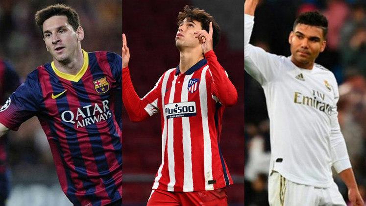 O Transfermarkt atualizou os valores de mercado dos jogadores que atuam na Espanha, e Lionel Messi perdeu o posto de 1º após 10 anos, ficando abaixo da marca dos 100 milhões pela primeira vez desde 2010. Veja os atletas mais valiosos da La Liga, segundo o site Transfermarkt.