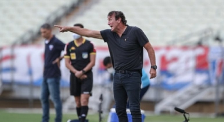 O treinador atleticano adotou um discurso cauteloso sobre a conquista do título brasileiro