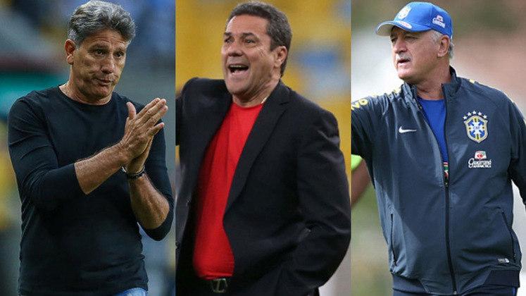 O técnico argentino Ariel Holan pediu demissão do Santos, que agora vai atrás de alternativas. Caso queira se voltar para o mercado nacional, o Peixe vai encontrar diversos nomes famosos e que atualmente estão sem clube. Confira os nomes disponíveis no mercado