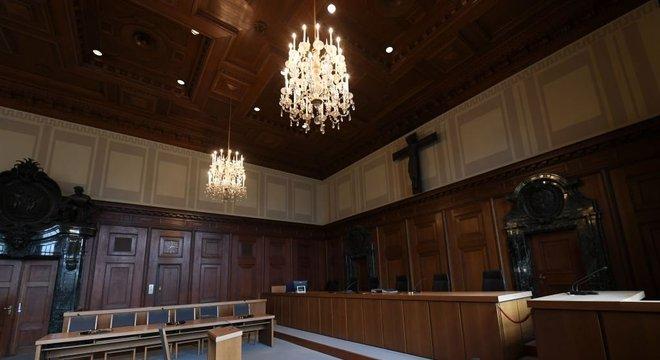 O tribunal de Nuremberg é parte de um museu que comemora o julgamento