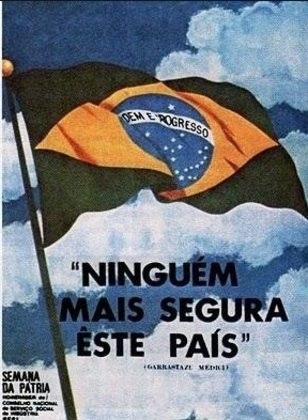 O triunfo brasileiro foi utilizado para reforçar ainda mais o tom ufanista do governo. No auge dos