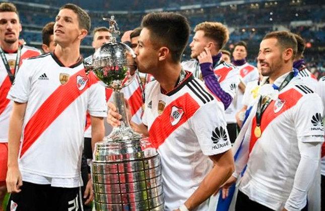 O último título da equipe argentina foi em 2018, quando os comandados de Marcelo Gallardo superaram o Boca Juniors (ARG) por 3 a 1, em jogo único disputado no Santiago Bernabéu, na Espanha. Esse foi o quarto título da Libertadores da história do River.