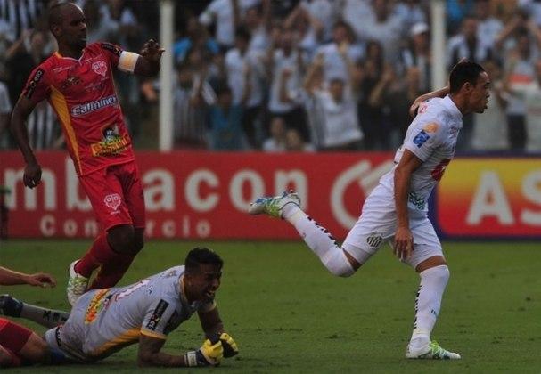 O último título do Santos no estádio foi em 2016, quando o Peixe bateu o Audax por 1 a 0 e conquistou o Campeonato Paulista. Ricardo Oliveira marcou o gol da vitória santista