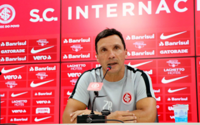 O último trabalho de Zé Ricardo foi no Internacional, em 2019. Antes disso ele passou por Flamengo, Vasco, Botafogo e Fortaleza
