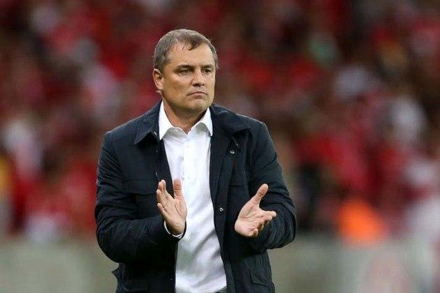 O último treinador estrangeiro do São Paulo foi o uruguaio Diego Aguirre, que comandou a equipe no ano de 2018