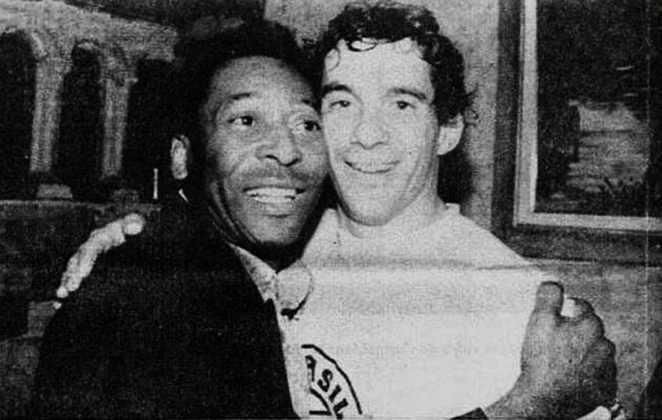 O único encontro de Pelé com Ayrton Senna aconteceu na boate Limelight, em São Paulo. Na ocasião, o piloto comemorava a vitória no GP do Brasil de 1993
