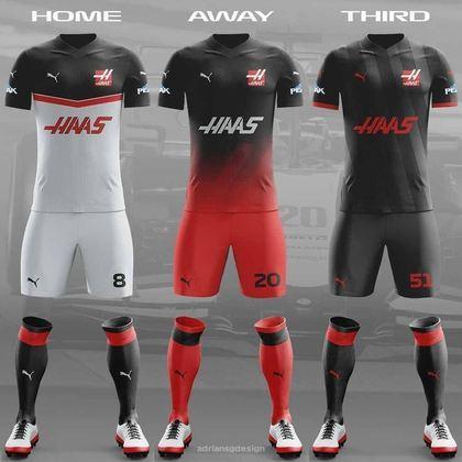 O uniforme da Haas