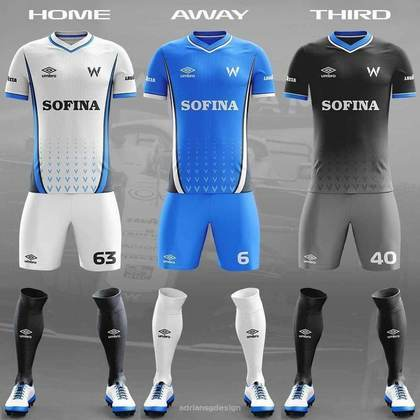 O uniforme da Williams