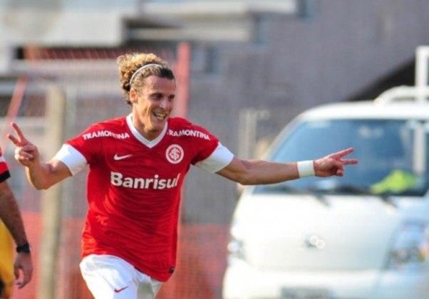 O uruguaio Diego Forlán chegou ao Internacional em 2012 e participou de 55 jogos, com 22 gols marcados. Venceu o Gaúcho de 2013.