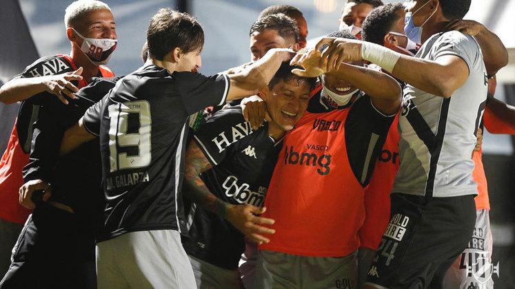 O Vasco está na fila há 20 anos. O último título brasileiro do clube foi em 2000.