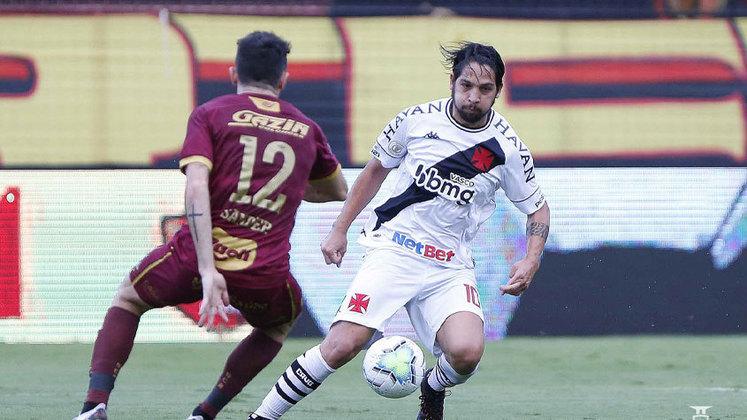 O Vasco levou 4 a 1 do Atlético-MG e, em seguida, 3 a 0 do Bahia, em outubro