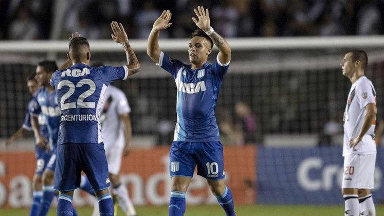O Vasco sucumbiu logo na primeira fase da Libertadores de 2018. Em um grupo com Cruzeiro, Racing e La U, o Cruz-Maltino ficou na terceira colocação, com cinco pontos