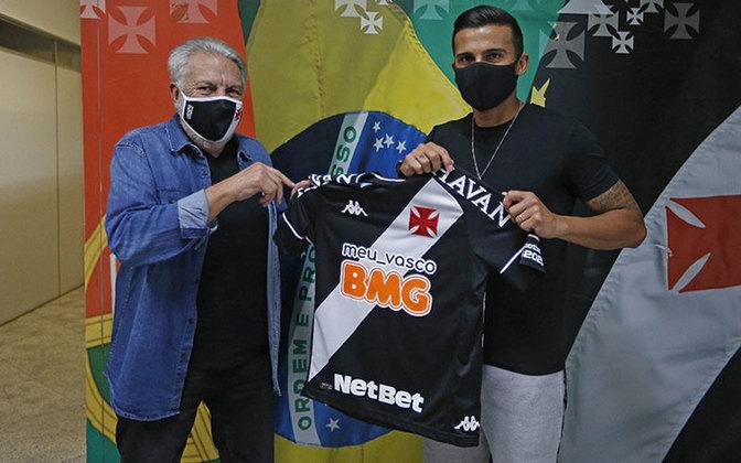 O Vasco também coleciona números de pessoas contaminadas com coronavírus. Foram 27 desde o retorno das atividades no Brasil. Entre os nomes estão Lucão e Guilherme Parede.